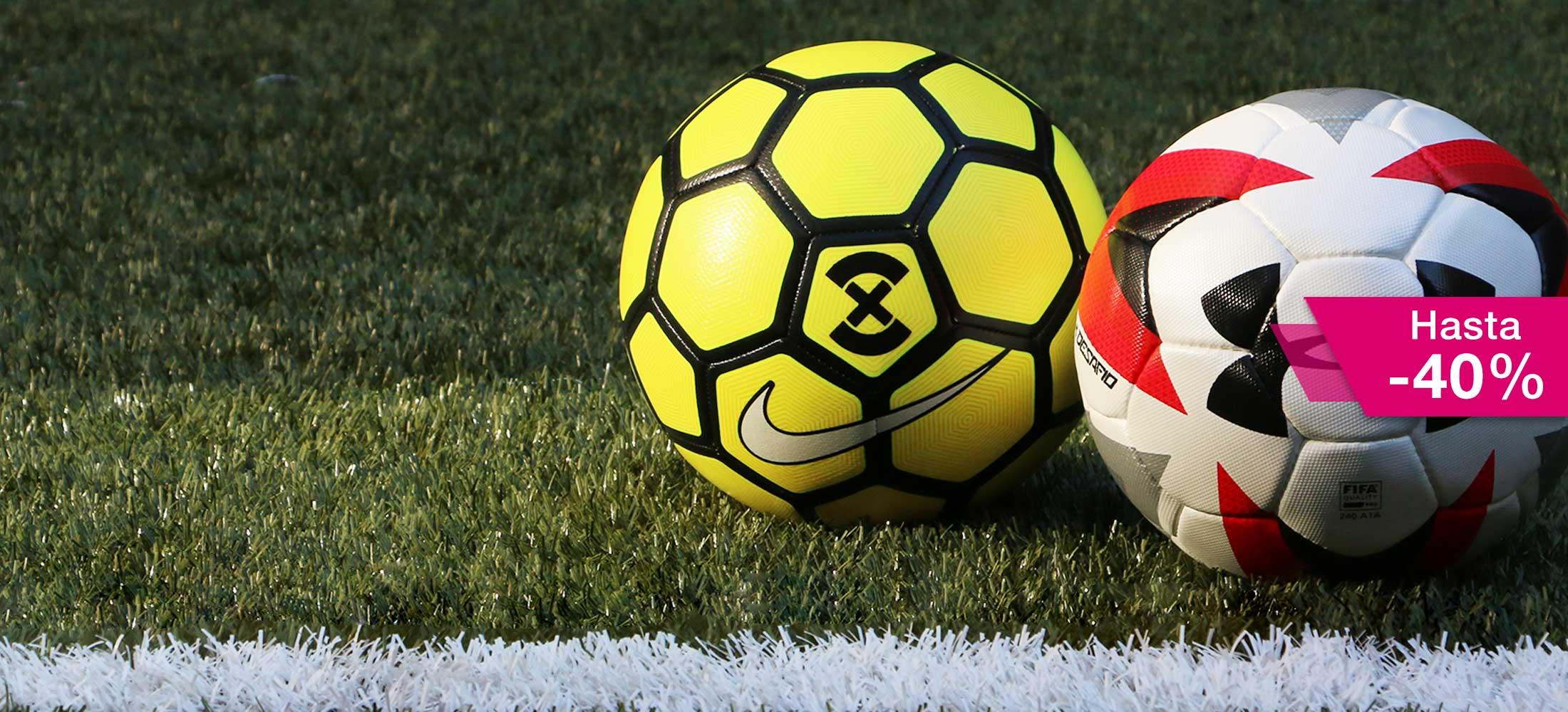 Rebajas en balones de fútbol