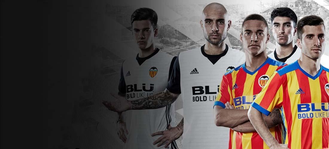 Equipaciones y productos oficiales del Valencia CF