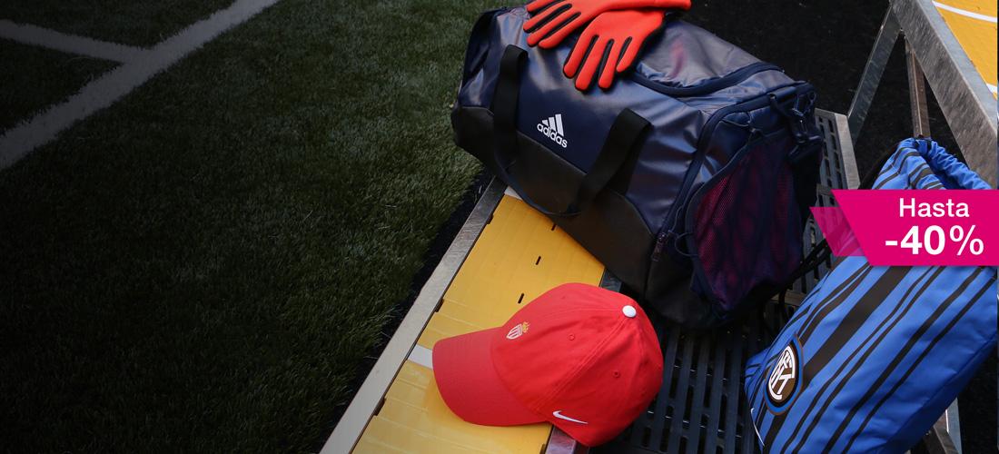Rebajas en complementos de fútbol